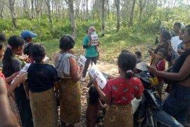 Pemerintah bantu pembangunan rumah Orang Rimba di Jambi