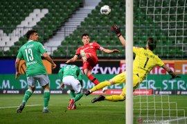 Havertz sumbang dwigol saat Leverkusen  habisi Bremen