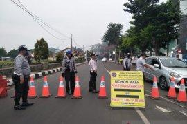 Penyekatan jalan di Purwakarta dihentikan menyusul berakhirnya PSBB