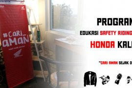Honda Kalbar hadirkan program edukasi Safety Riding Online
