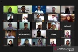 YABN menggandeng ANTARA berikan pelatihan jurnalistik untuk tim media