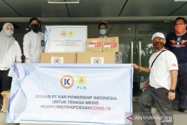 PLN bersama KPI donasikan APD dan ventilator senilai Rp1 miliar