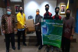 Pelindung wajah hasil  karya mahasiswa ULM bantu penanganan COVID-19