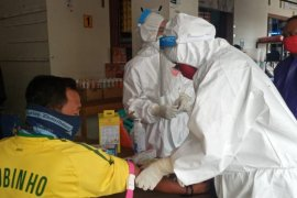 Sejumlah daerah di Malut selenggarakan rapid test massal warga