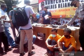 Polres Rejang Lebong tangkap pengedar narkoba bersenjata api