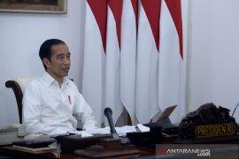 Jokowi: Pemerintah tak larang warga beribadah selama pandemi COVID-19