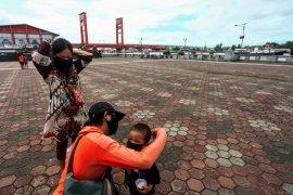 PSBB Palembang diberlakukan hari ini, Polda dukung dengan turunkan sejumlah personel