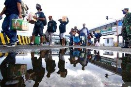 Dibanding Lebaran 2019, penumpang kapal penyeberangan Ketapang-Gilimanuk turun drastis
