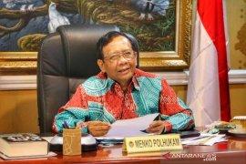 Mahfud MD: Anggota kabinet tidak akan gelar griya Lebaran tahun ini