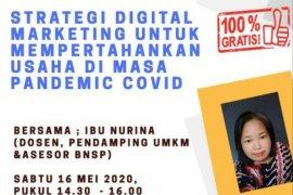 """PNM tawarkan """"Digital Marketing"""" pertahakan bisnis hadapi pandemi COVID-19"""