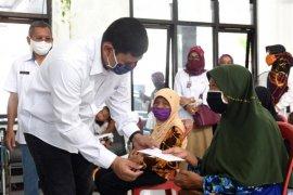Ribuan warga Kota Kediri terdampak pandemi corona dapat bantuan