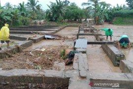 Banjir bandang sebabkan ratusan ton ikan di Desa Belumai PUT hanyut