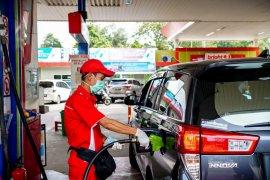 Pertamina mencatat konsumsi BBM mulai naik 25 persen