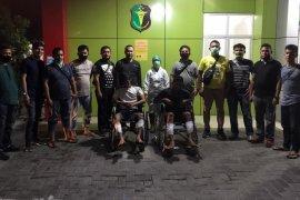 Polisi Medan  tembak bandit motor