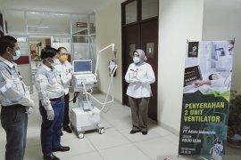 PT Adaro datangkan dua ventilator impor untuk rumah sakit rujukan COVID-19