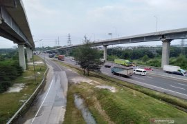 82.971 kendaraan tinggalkan Jakarta melalui Tol Jakarta-Cikampek