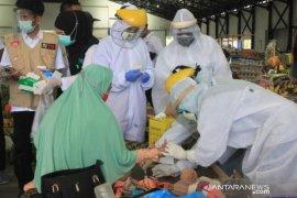 Hasil Rapid test di Pasar Barabai tiga orang dinyatakan reaktif