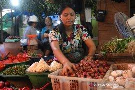 Harga bawang merah melonjak Rp50 ribu per Kg di Sibolga
