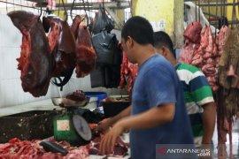 Sambut lebaran harga daging kerbau dan ayam naik di Sibolga