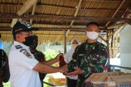 Danrem 133 tinjau langsung Pos Batas Atinggola perketat pintu masuk Gorontalo
