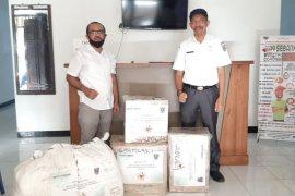 Petrotekno salurkan APD dan masker untuk Gugus Tugas COVID-19 KKT