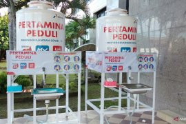 Pertamina RU VII bantu Pemerintah Kota Sorong tandon air