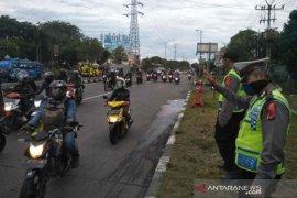 Kendaraan nopol luar daerah ramaikan jalur Pantura Cirebon