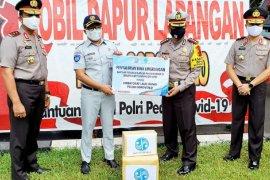 Jasa Raharja Salurkan APD ke Polda Gorontalo dan RSAS