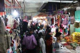 Jelang lebaran Pasar Sibolga Nauli ramai pegunjung