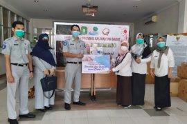 Jasa Raharja Kalbar berikan bantuan masker ke RSUD Soedarso