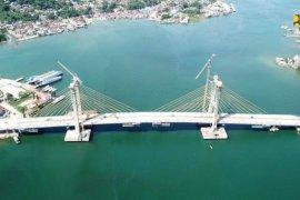 Kementerian PUPR harapkan jembatan Teluk Kendari segera rampung