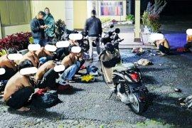 Polisi amankan 47 pelaku balap liar di Bener Meriah, juga temukan satu paket sabu