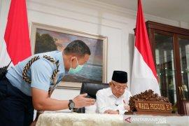 Wapres Ma'ruf berharap Indonesia-Singapura dorong stabilitas ekonomi global
