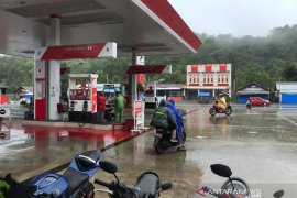 Hujan deras, pengguna jalan ke barat selatan Aceh berhati-hati