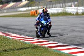 Pebalap MotoGP berlatih di Sirkuit Catalunya usai lockdown