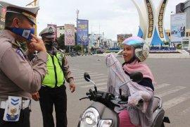 Polresta Banda Aceh razia masker, 23 pelanggar ditegur