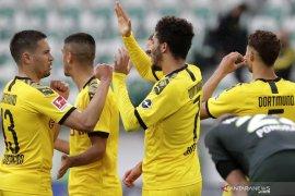 Liga Jerman: Dortmund tundukkan Wolfsburg 2-0