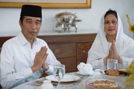 Tidak Mudik, Presiden Jokowi merayakan Idul Fitri di Istana Bogor