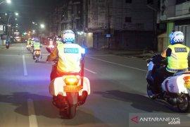 Cegah takbir keliling di Medan, Polisi gelar patroli skala besar