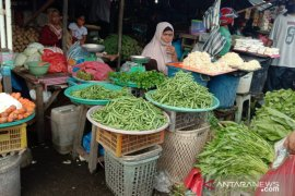 Harga sayur buncis di pasar Ambon Rp60.000/Kg
