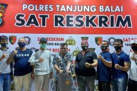 Polres Tanjung Balai  ringkus mantan napi gelapkan sepeda motor