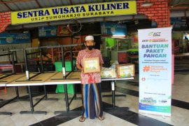 BI dan BMPD Jatim salurkan paket Ramadhan bersama ACT