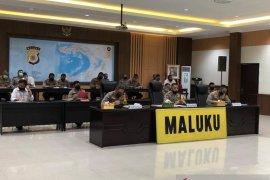 Kapolda Maluku koordinasi pengamanan malam takbiran-Shalat Idul Fitri 1441 H