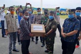 Pemprov Sumut salurkan 15.870 paket sembako di Labusel