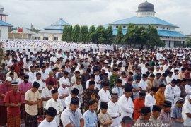 Warga Nagan Raya Aceh telah rayakan Idul Fitri 1441 H Sabtu pagi