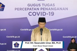 Imam Besar Masjid Istiqlal mengajak masyarakat shalat Id di rumah