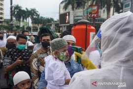 Masjid di Medan gelar shalat Ied dengan protokol kesehatan