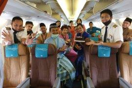 Garuda Indonesia di Malaysia tetap memberi pelayanan saat Idul Fritri