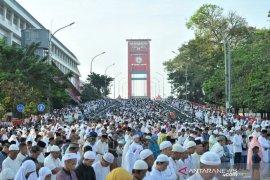 Perbandingan suasana pusat Kota Palembang pada Idul Fitri hari ini dan tahun lalu Page 2 Small