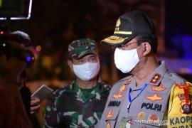 Kapolda Gorontalo dan Danrem tinjau pos pengamanan Idul Fitri